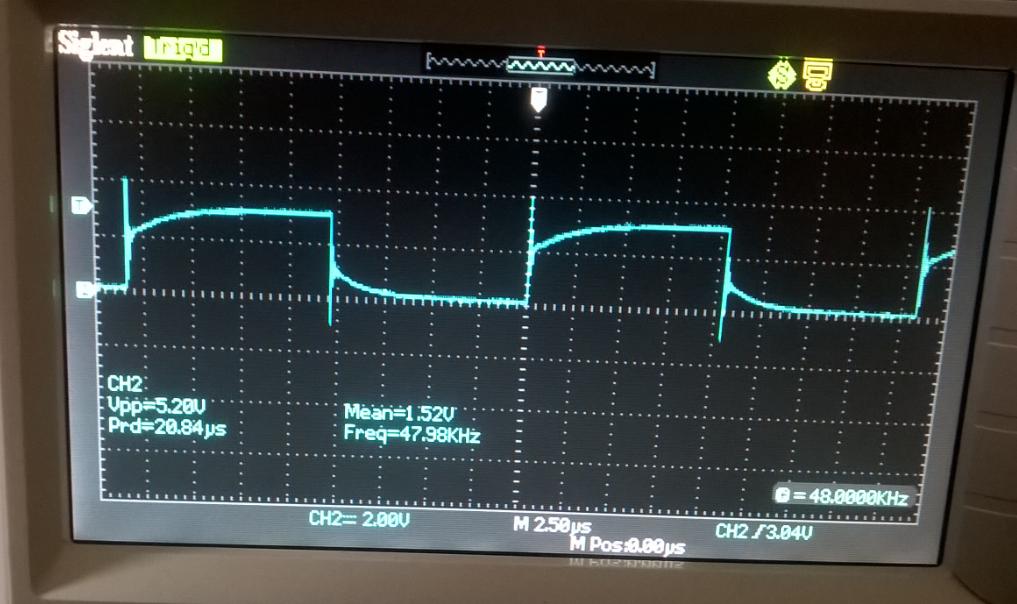 oscilloscopeWDCLKoutput